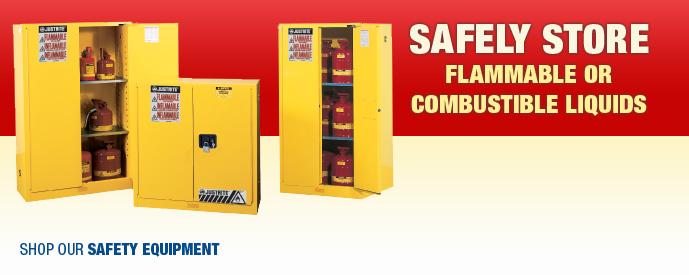 Store Flamable Liquids