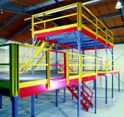 Prefabricated mezzanine