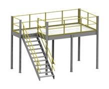 Prefab Mezzanine & Machinery Platforms
